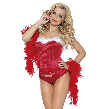Weihnachts Corsage Miss Santa