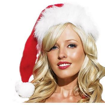 Plush Santa Weihnachtshut