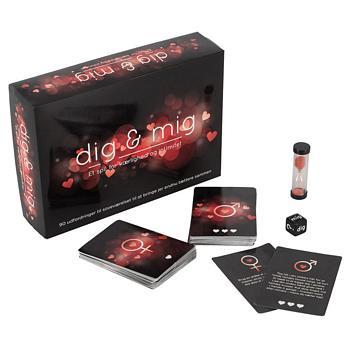 Dig & mig - erotic board game