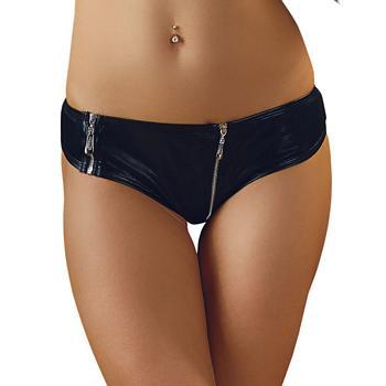 Wetlook Panties with Zipper