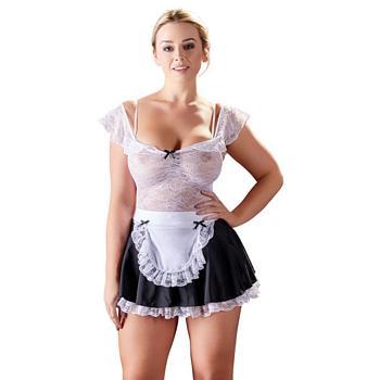 Stuepige kostume med Blondetop