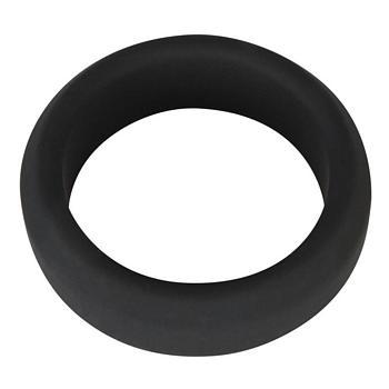 Black Velvet Silikon Penisring in Schwarz