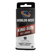 Worlds Best King Size XX-Large Kondom
