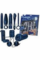 Midnight Blue Dildo und Vibrator Set
