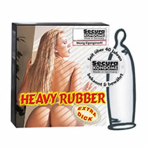 Secura Heavy Rubber Extra Thick Condoms