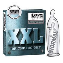 Secura XXL Condoms