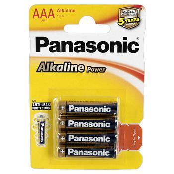 Panasonic AAA Alkaline Batteries