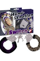Switch Handcuffs with 2 Coverings