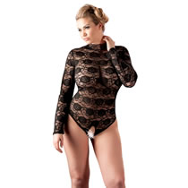 XL Lace Body in Black