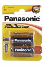 Panasonic Alkaline C Power Batterien