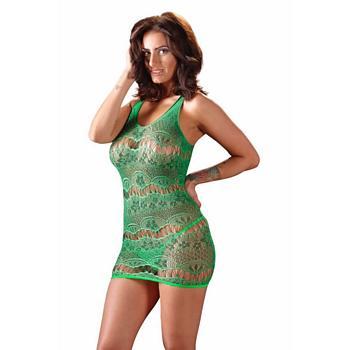 Netzkleid in Grün