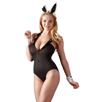 Playgirl Bunny Costume in Black