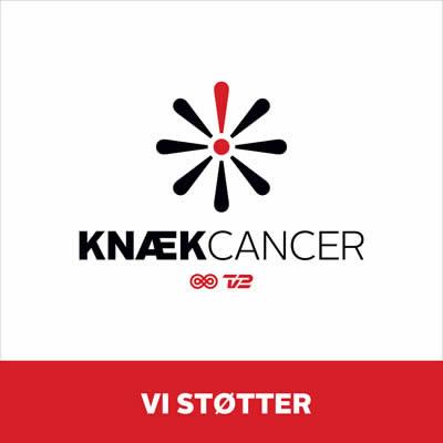 Vi støtter Knæk Cancer