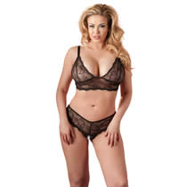 Plussize Bra and Strings