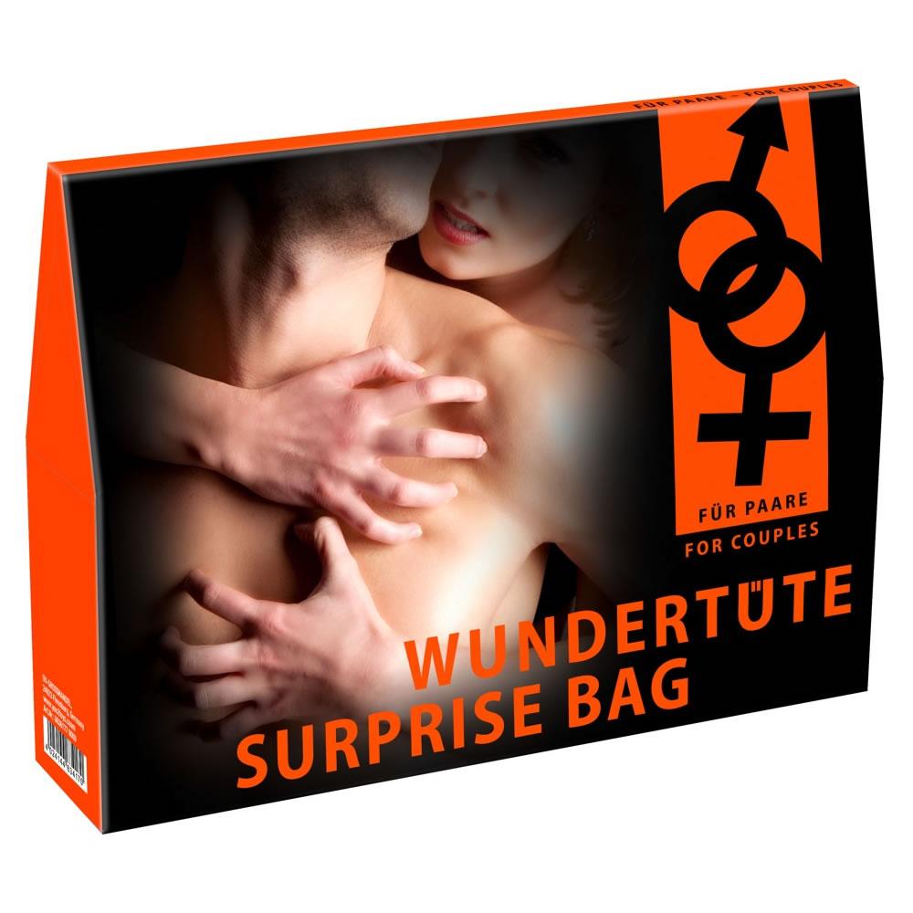 Surprise Pakke med Sexlegetøj og Lingeri til Par