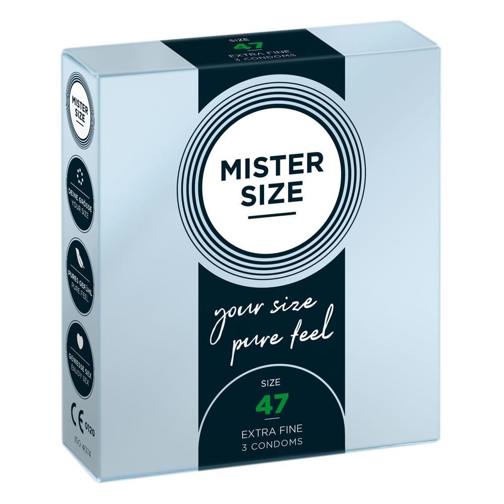 MY.SIZE 47 mm X-Small Kondome