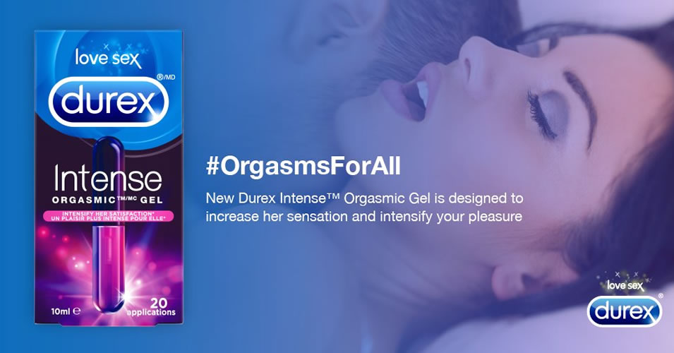 Durex Intense Orgasmic Gel