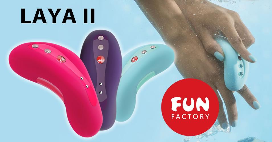 Fun Factory Laya II Clitoris Stimulator