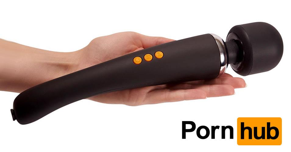 PornHub Magic Wand Vibrator Supercharged Set