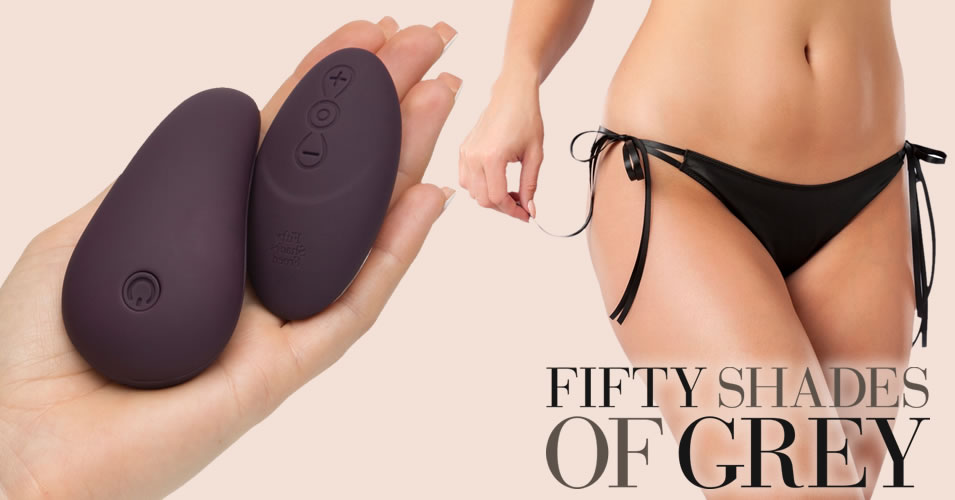Lay-On Vibrator with Brieft - My Body Blooms from Fifty Shades