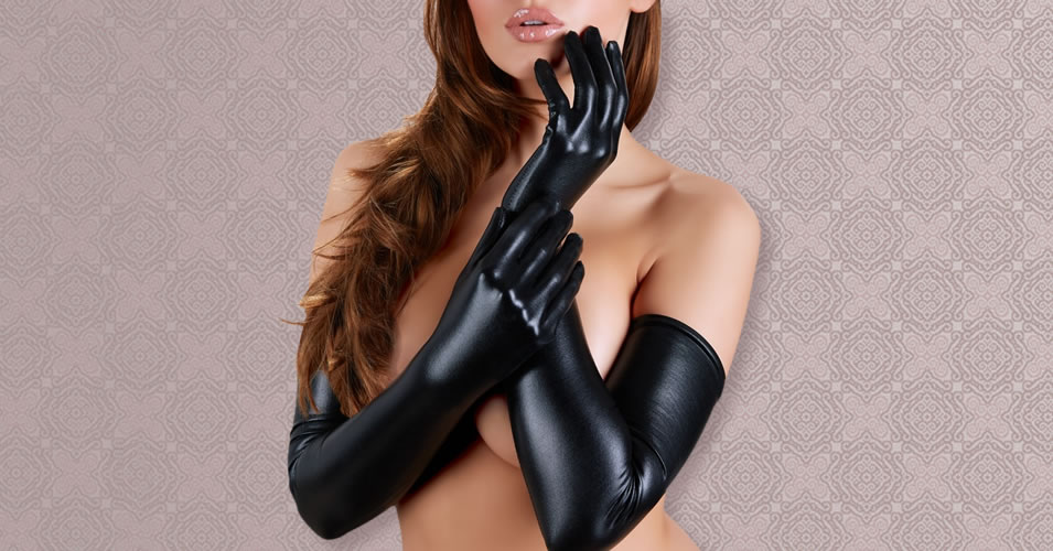 Wetlook Gloves Long