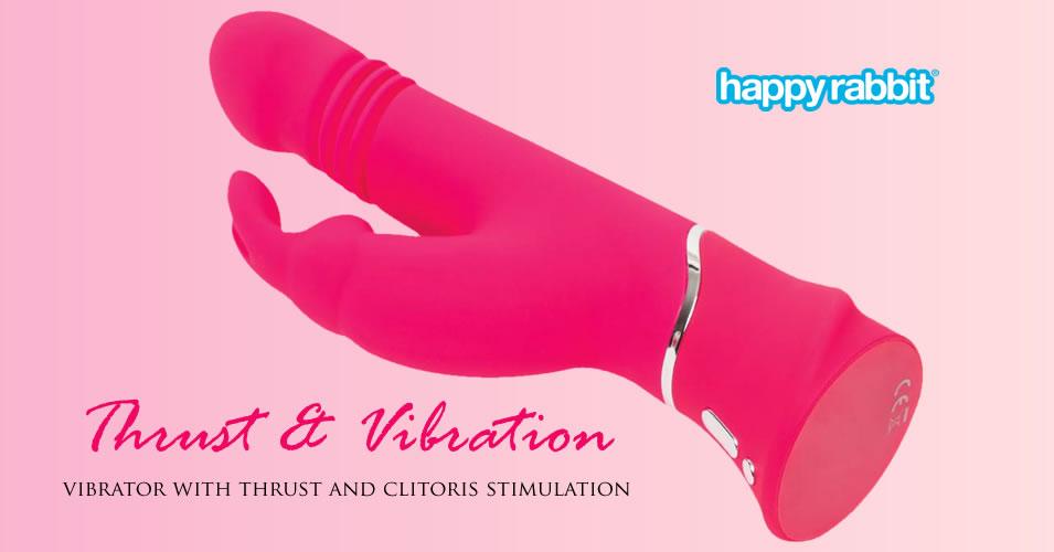 Happy Rabbit Vibrator med Stød og Vibrationer