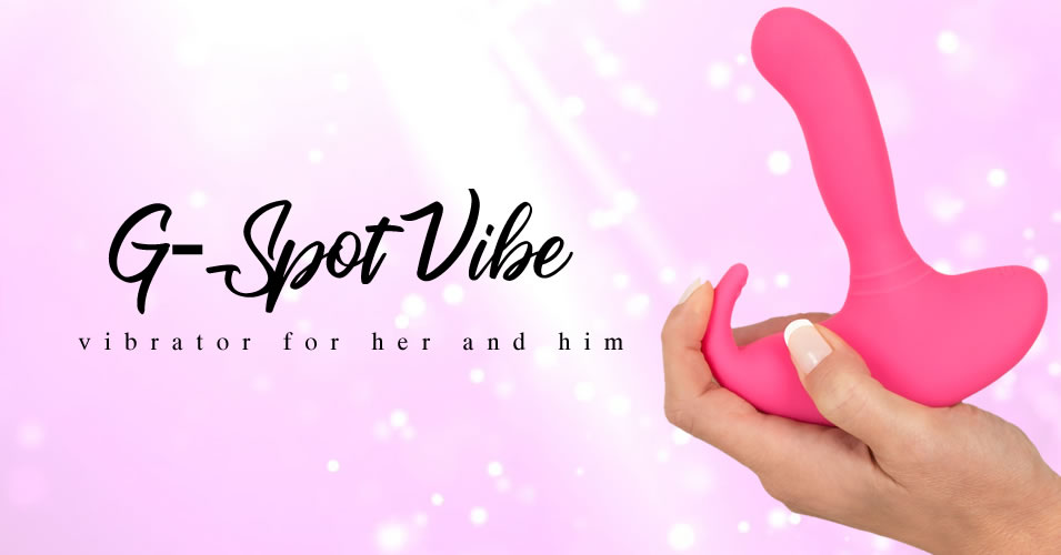 G-Spot Vibe G-Punkt & P-Punkt Vibrator