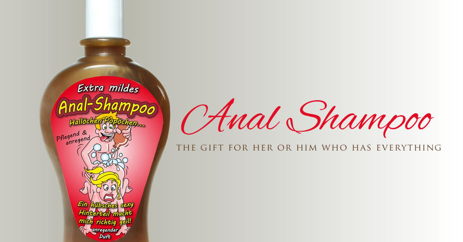Anal Shampoo - pflegend und duftend