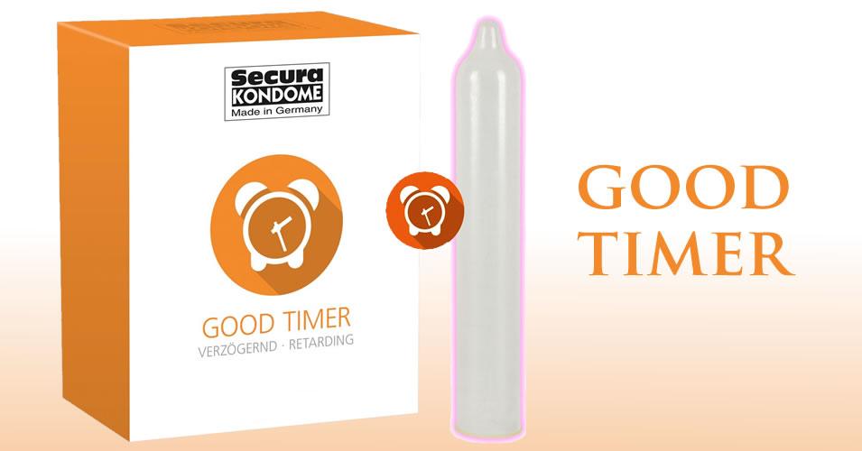 Secura Good Timer Kondom - Verzögernd