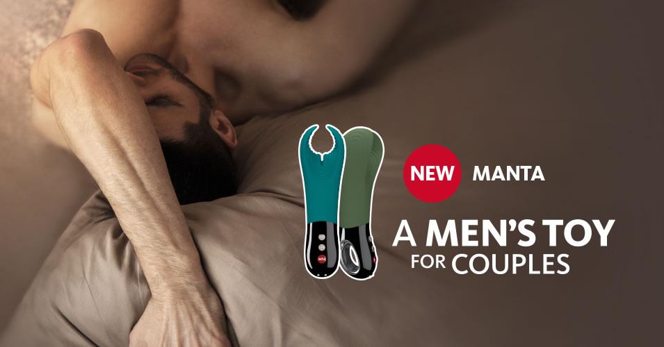 Fun Factory Manta Penis Vibrator & Masturbator
