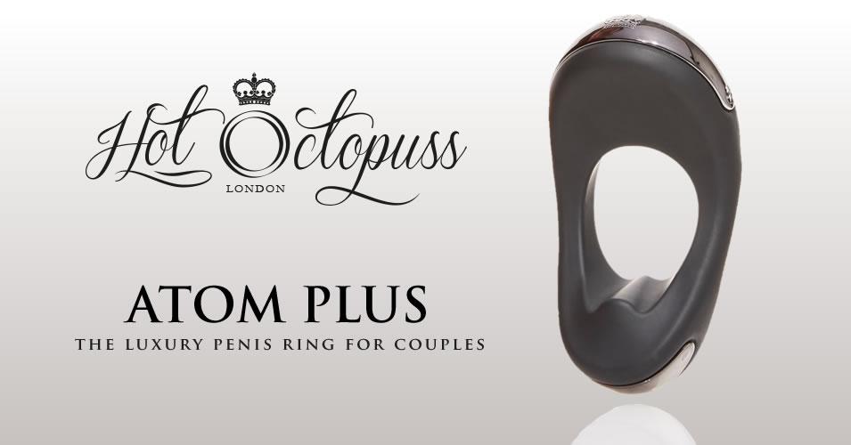 Hot Octopuss Atom Plus Penis Ring med Vibrator