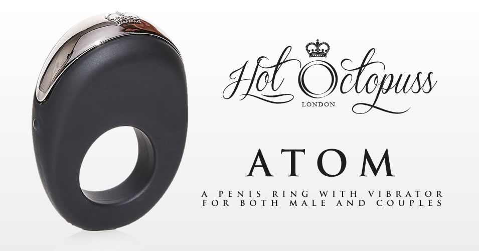 Hot Octopuss Atom Penis Ring med Vibrator