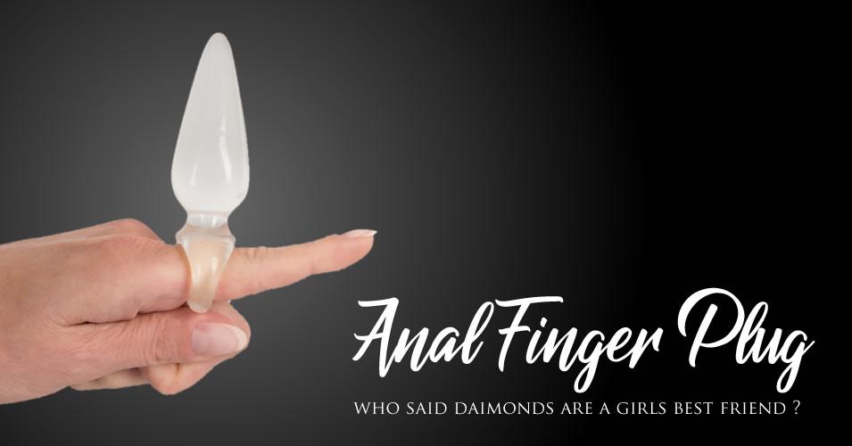 Anal Finger Plug