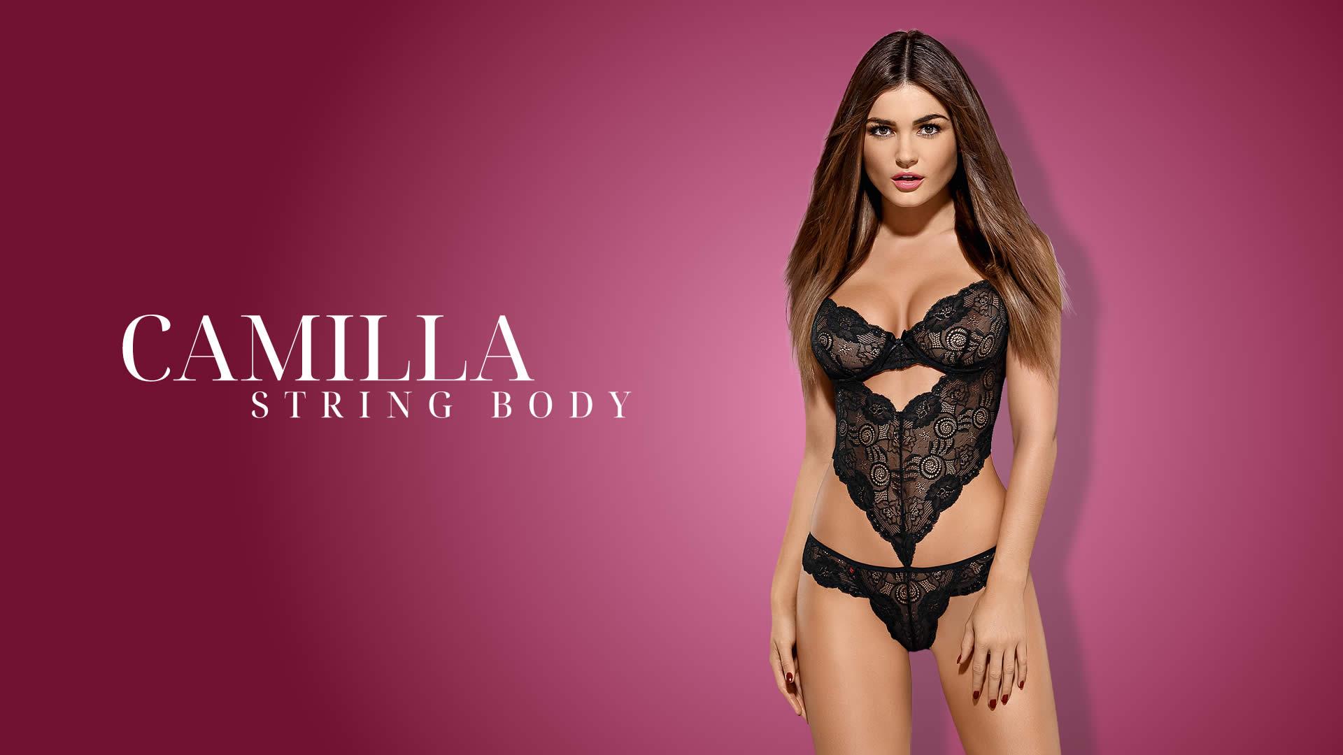 Obsessive G-streng Body Camilla i Blonder