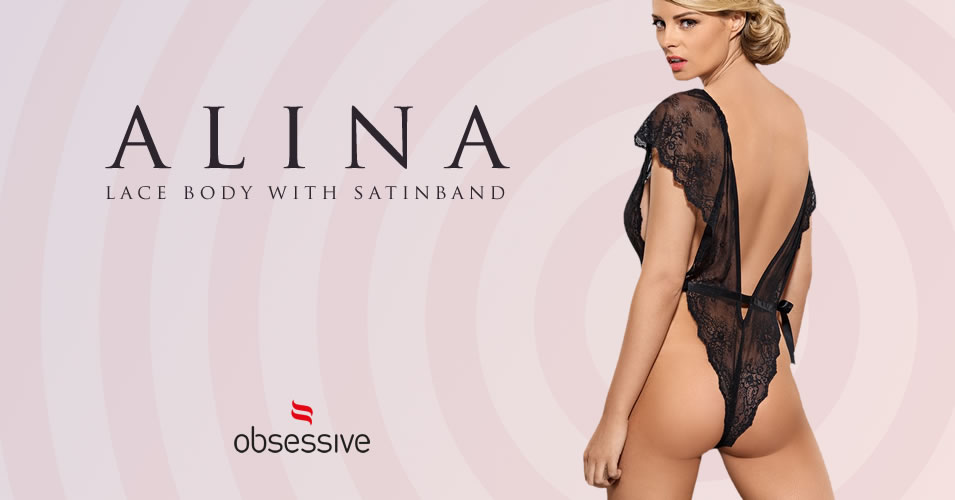 Obsessive Alina Lace Body with Satinband
