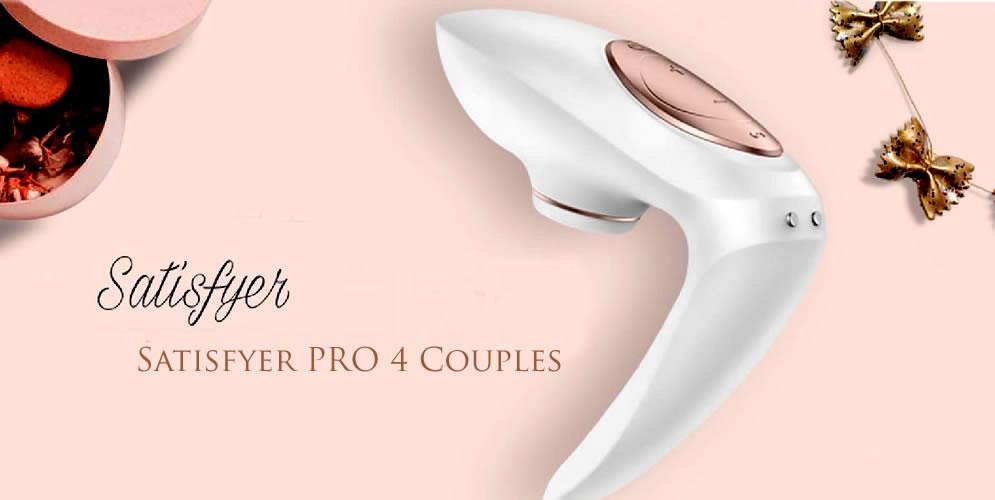 Satisfyer Pro 4 Couples Par Vibrator