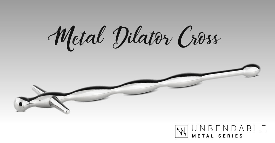 Sinner Gear Metal Dilator Cross
