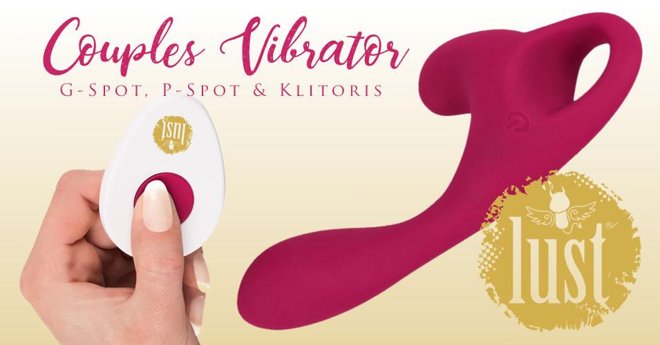 Lust Clitoris & G-Spot Vibrator