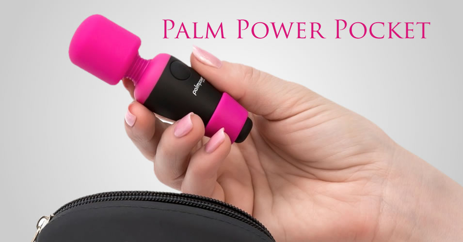 Palm Power Pocket Wand Massager