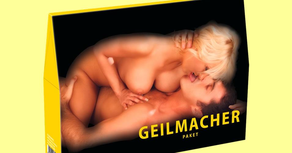 Geilmacher Pakke med Film og Sexlegetøj der tænder