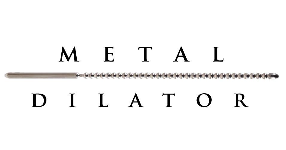 Dilator Dip Stick Ripped in Metal