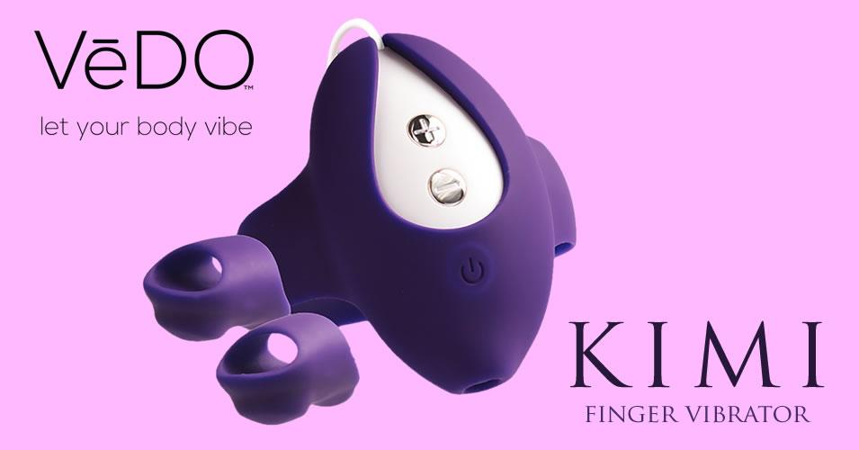 VeDO Kimi Finger Vibrator af Silikone