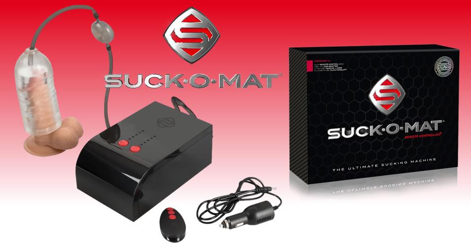 Suck-O-Mat Blowjob Machine and Masturbator