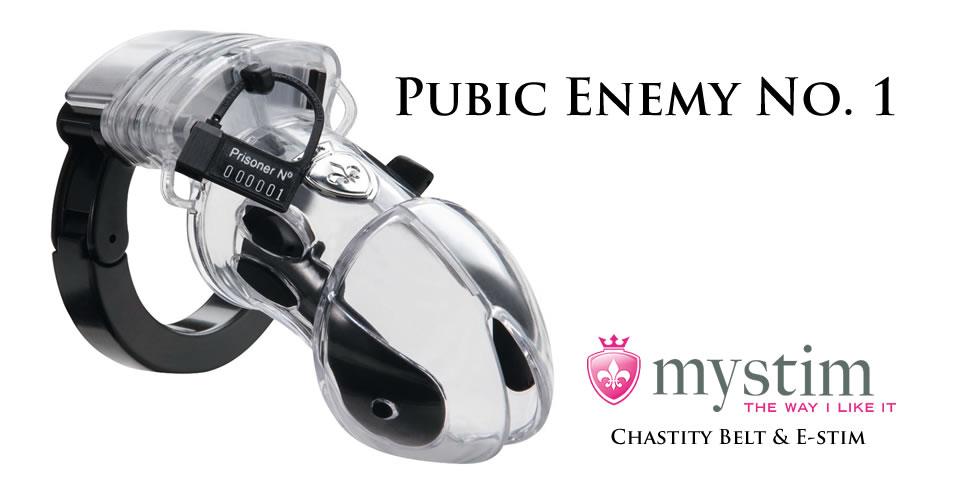 Mystim Pubic Enemy No. 1 Penis Cage for E-Stimulation