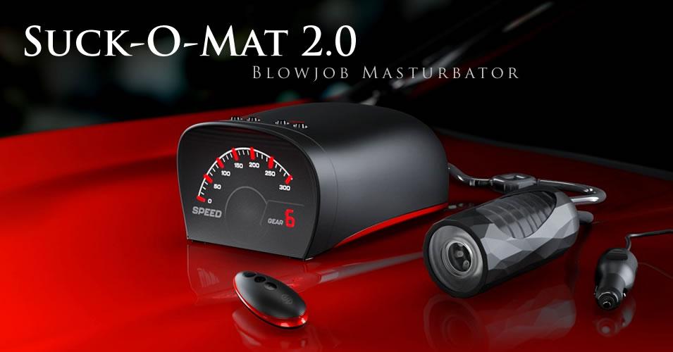 Suck-O-Mat 2.0 Blowjob Maschine und Masturbator