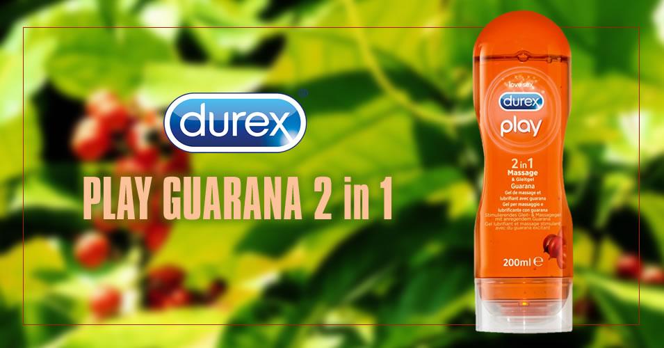 Durex Play Guarana 2-i-1 Massageolie & Glidecreme