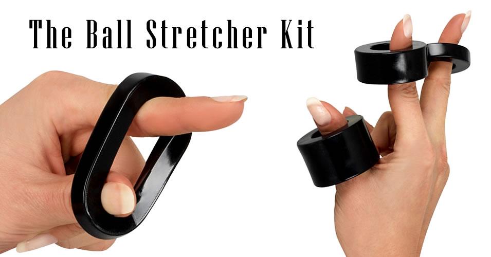 Ball Stretcher Kit in Black