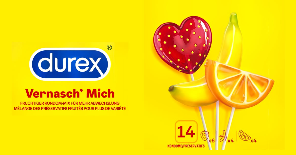 Durex Vernasch Mich Kondomer med Aroma