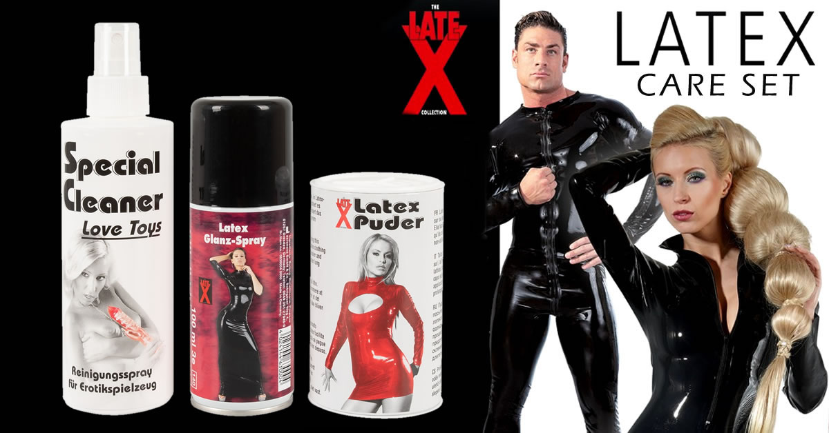 Latex Care Set for Sex Toys and Latex Wear