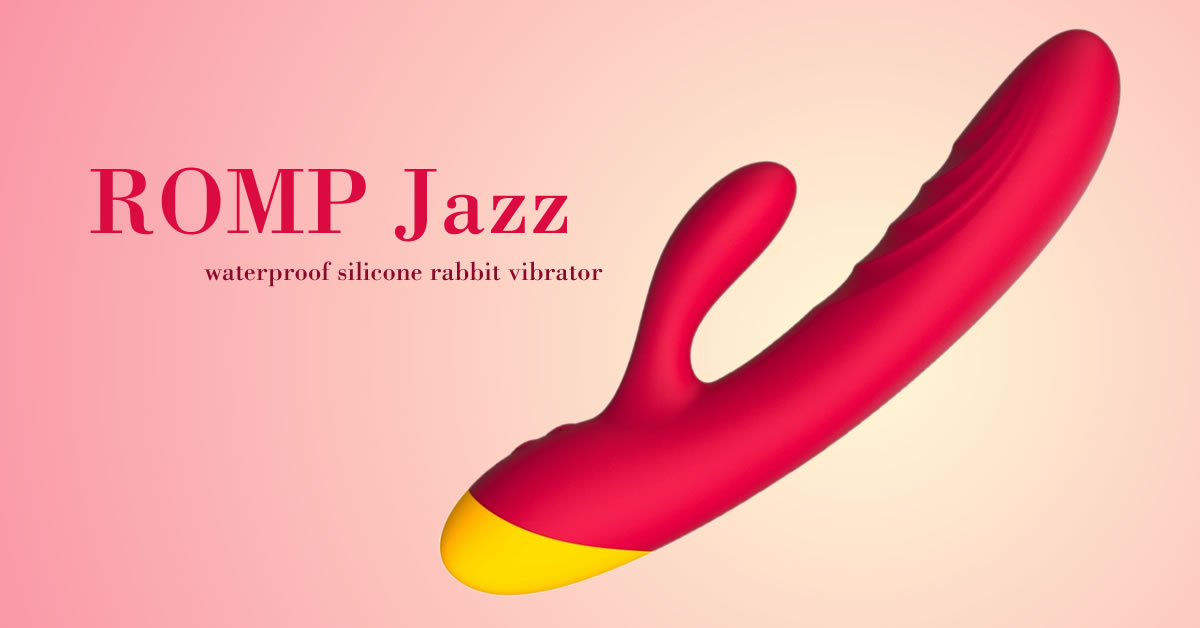 ROMP Jazz Silikon Rabbit Vibrator